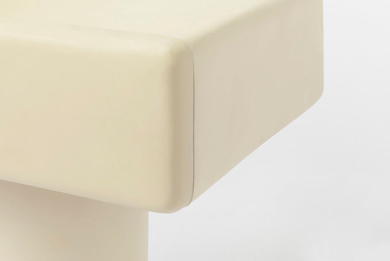 Roly Poly Night Stand / Cream