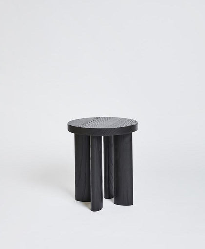 Orbit Stool 4 - Ebonized Ash