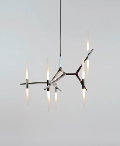 Agnes Chandelier - 10 Lights