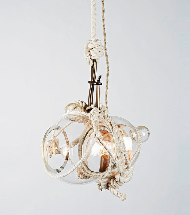 Knotty Bubbles Pendant - Small