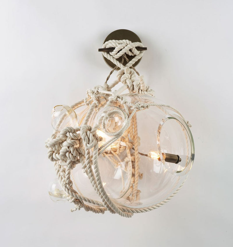 Knotty Bubbles Sconce