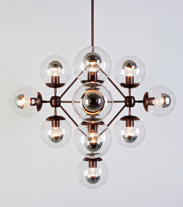 Modo Chandelier - Diamond, 13 Globes