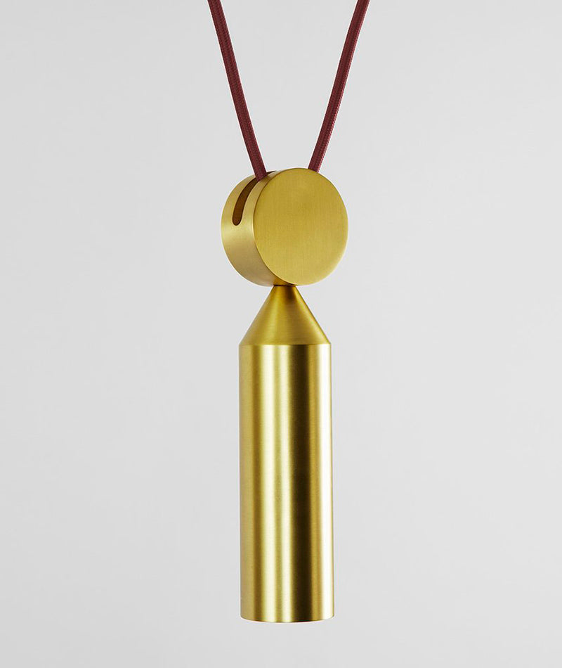Shape Up Pendant - Cone