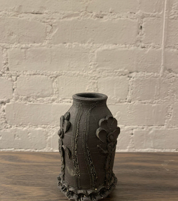 Maggie Boyd- Medium black vase