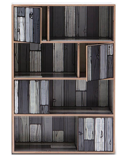 Wrongwoods Room Divider / Bookshelf