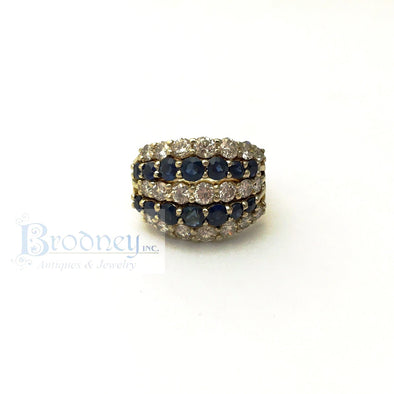 fine-estate-jewelry-14kt-diamond-sapphire-ring
