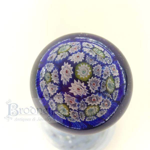 Millefiori Glass Scent Bottle