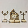 french-bronze-marble-three-piece-clock-set-antique