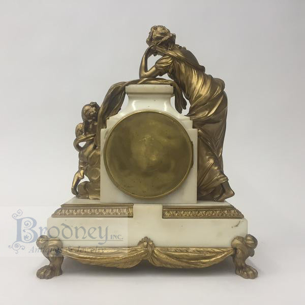 french-bronze-marble-three-piece-clock-set-antique-6