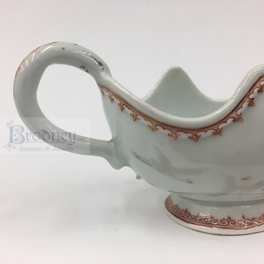 Chinese Export Sauce Boat