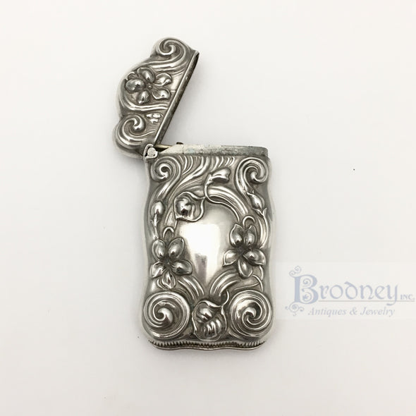 Sterling Silver Match Safe