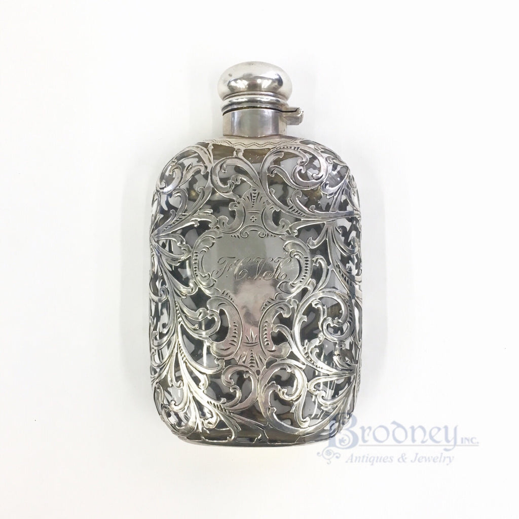 alvin-sterling-silver-filigree-and-glass-flask-antiques