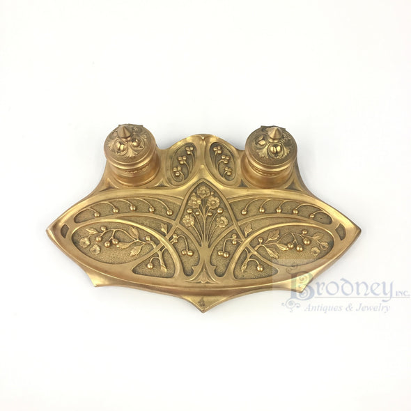 french-art-nouveau-bronze-inkwell-antique