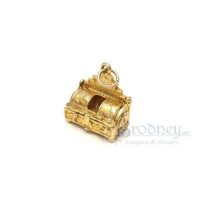 14kt Gold Fish Fryolator Charm