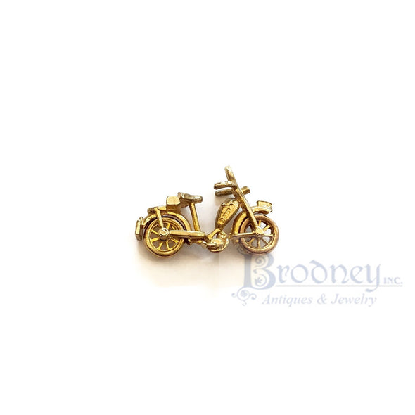 14kt Gold Moped Charm