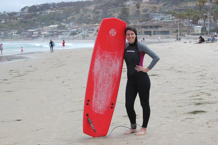 Even Reporters Have a Fun On Moda Surfboards