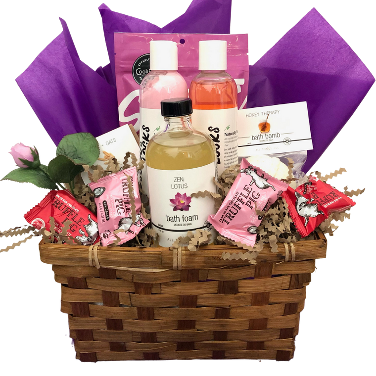 Pampered! Spa Gift Basket