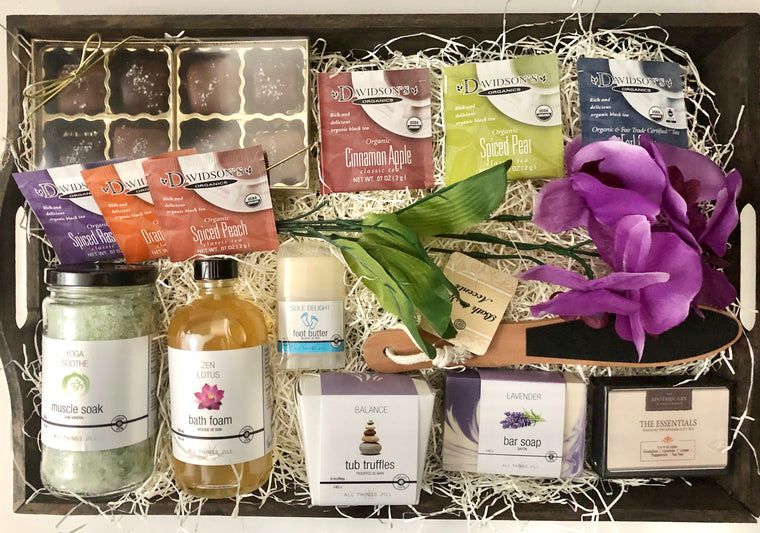 The Essentials Spa Gift Crate