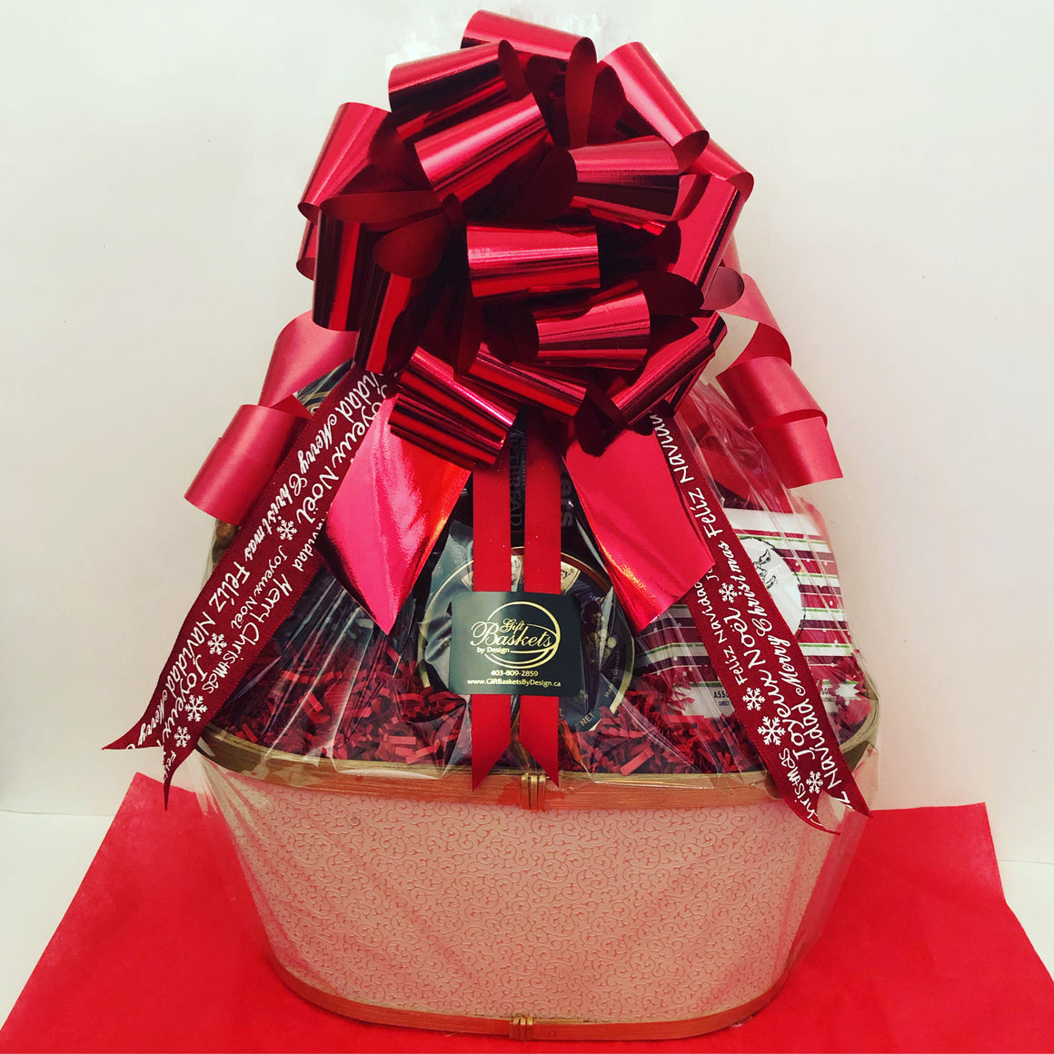 Kringle's Krunchies Snacker Gift basket