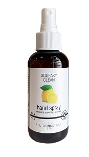*Squeaky Clean Hand Spray