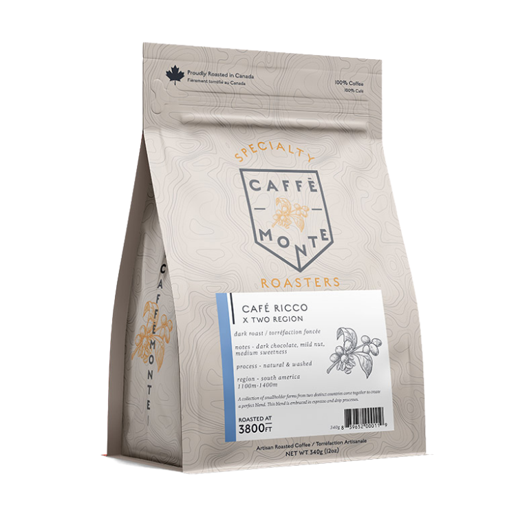 *Caffe Monte 340g Locally Roasted Coffee Beans