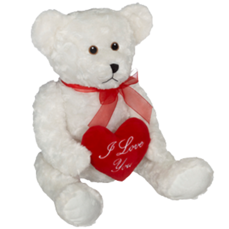 "*Jumbo ""I love you"" Teddy Bear"