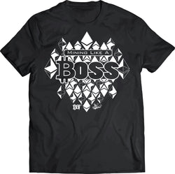 "Ethereum ""Mining Like A BOSS"" T-Shirt"