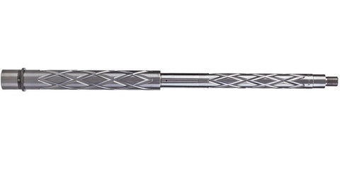 "16"" Stainless Steel Diamond Flute Barrel .223/5.56"