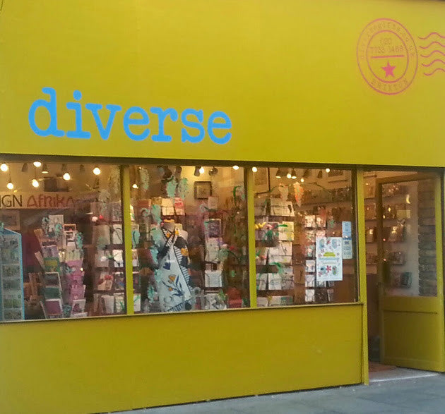Now stocked at Diverse Gifts Brixton