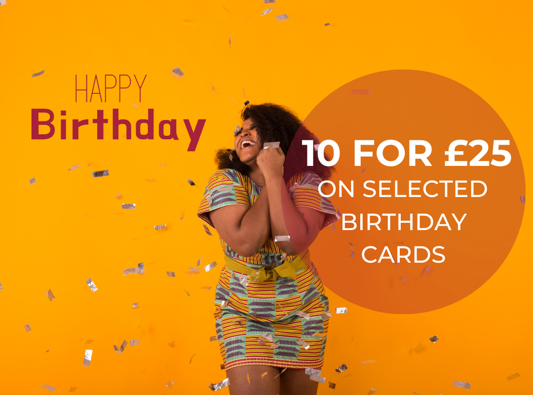 Diverse Birthday Card Bundle by AfroTouch Design
