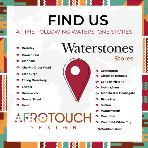 Afrotouch Design Locations