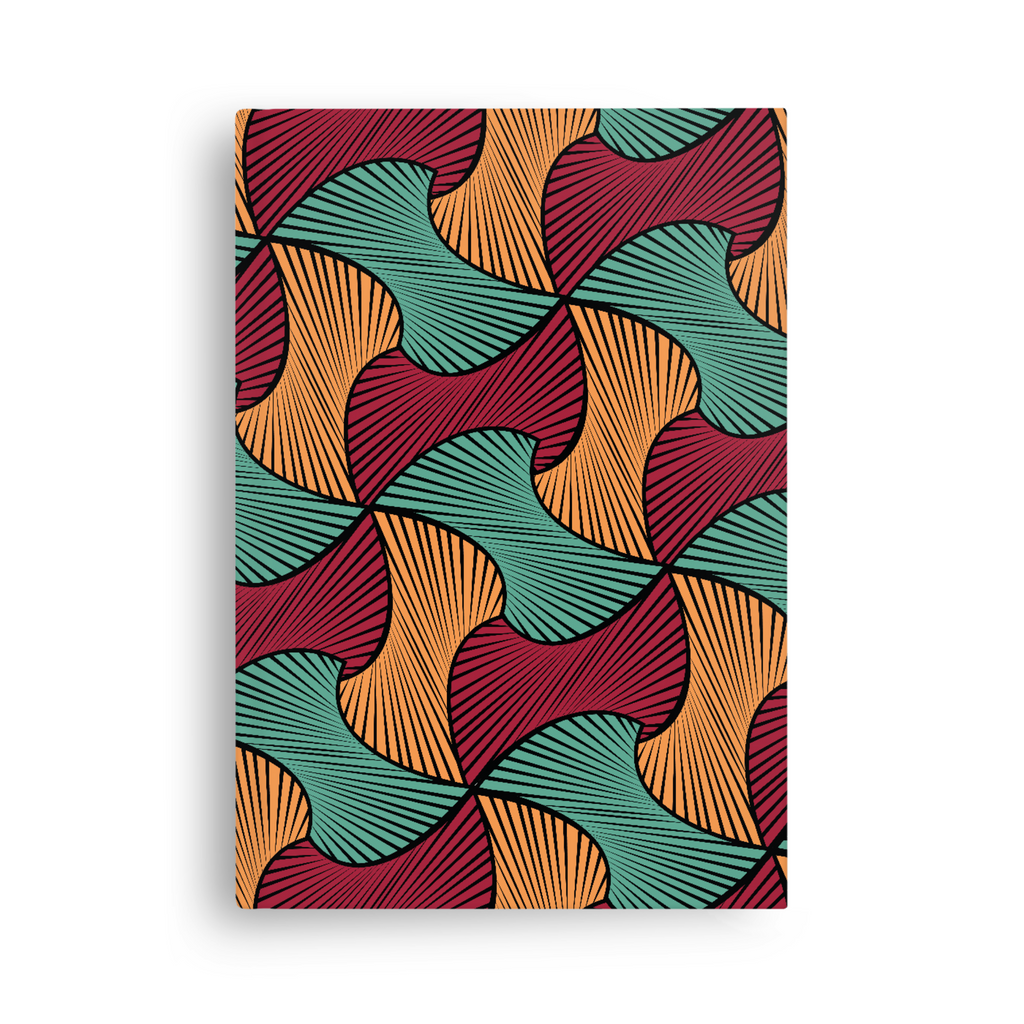 African print note book