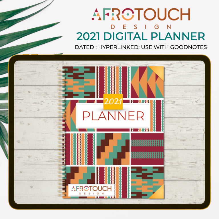 2021 Digital Planner | AfroTouch Design (Dated)