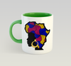 African Queen Mug (Stripes)