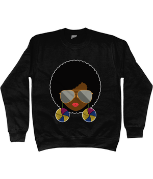 She Sweatshirt | AfroTouch Design