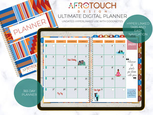 Digital Planner | AfroTouch Design (Undated)