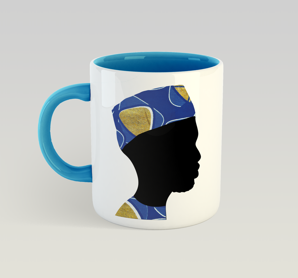 Man of Wisdom (Blue) Mug