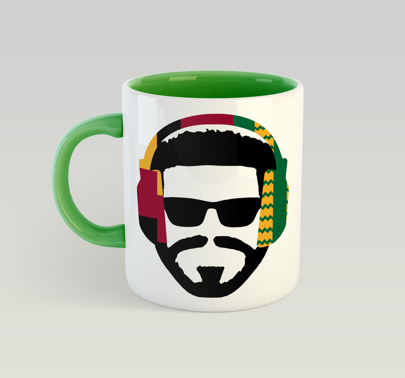 Music Man (Kente) Mug
