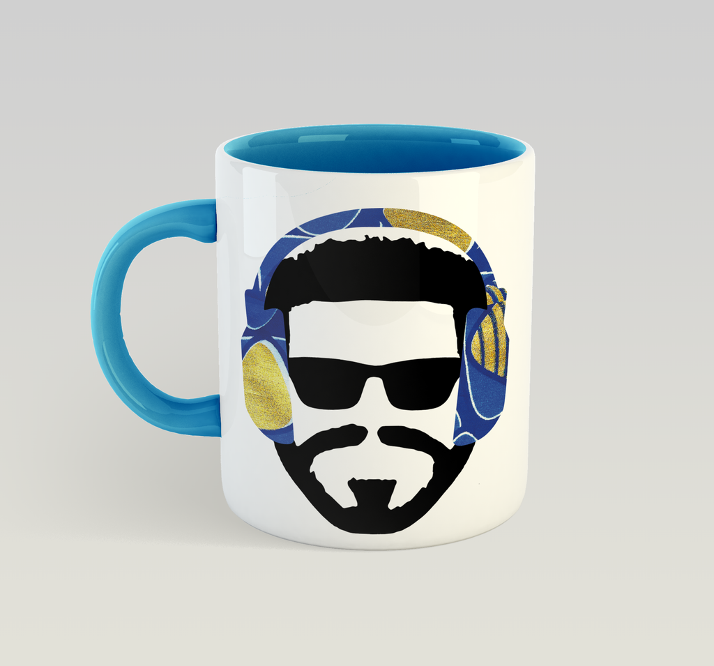 Music Man (Blue) Mug