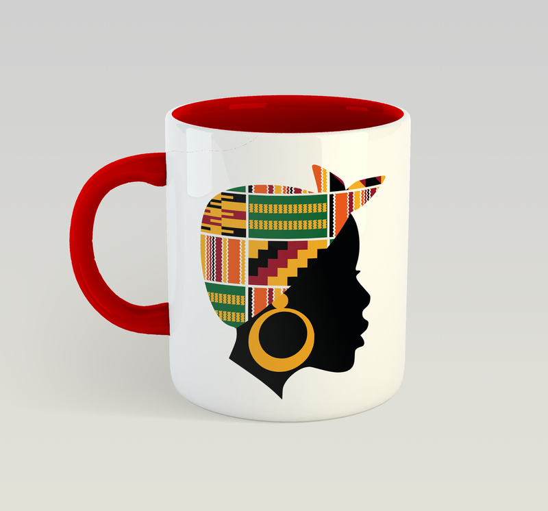 Phenomenal Woman Mug (Kente)