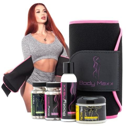 Booty Maxx Kit & Fat Trim Kit + Free Detox Supplements