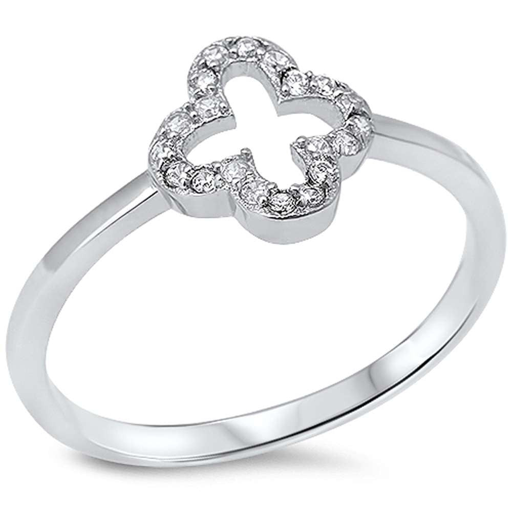 Small Open Petal Ring