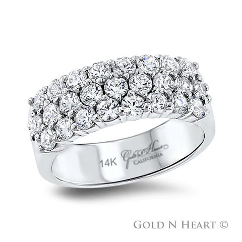 "Twenty-Five Diamond ""Jubilee"" Diamond Anniversary Ring"