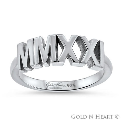 Class of 2021 Roman Numerals - Ladies Class Ring