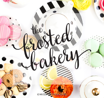 FROSTED BAKERY SHOP PREMADE LOGO