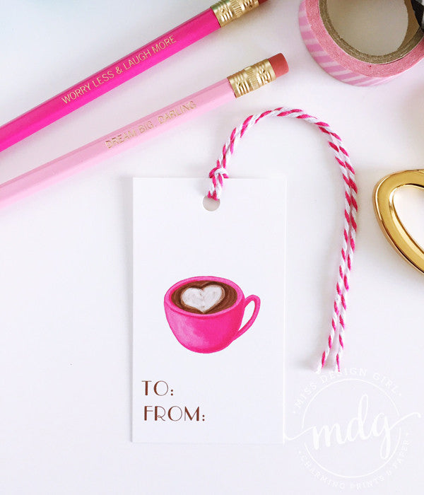 Coffee Gift Tags