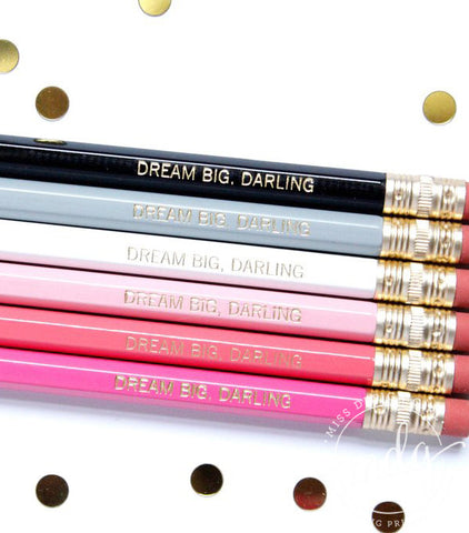 Dream Big, Darling Pencil Set
