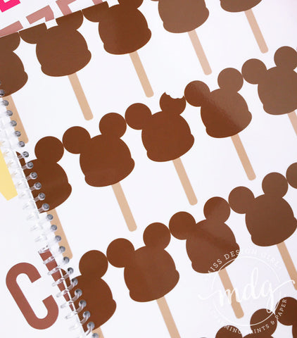 Mouse Ice Cream Notebook