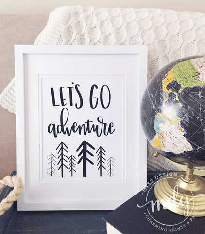 Let's Go Adventure Printable