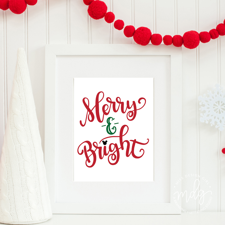 Magic Merry and Bright Print